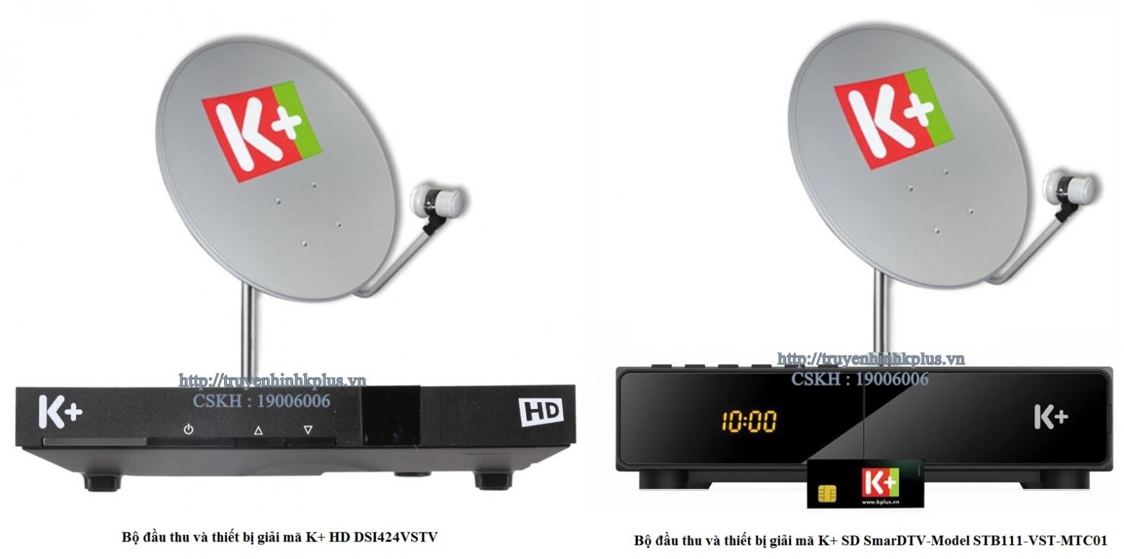 bộ thiết bị k+ thu gói kênh Premium HD+