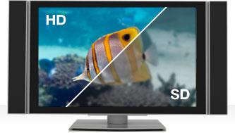 Nâng cấp từ đầu SD nên HD