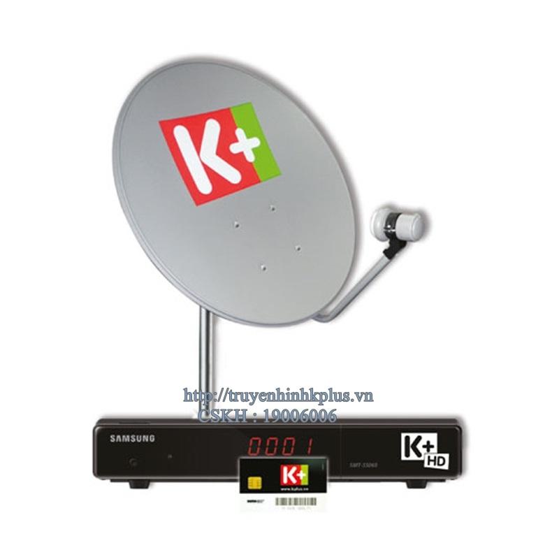 Bộ đầu thu và thiết bị giải mã K+ HD Samsung