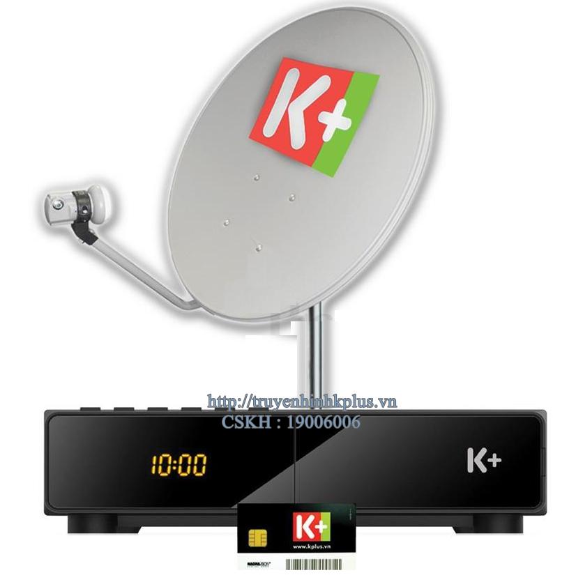 Bộ đầu thu và thiết bị giải mã K+ SD SmarDTV-Model STB111-VST-MTC01