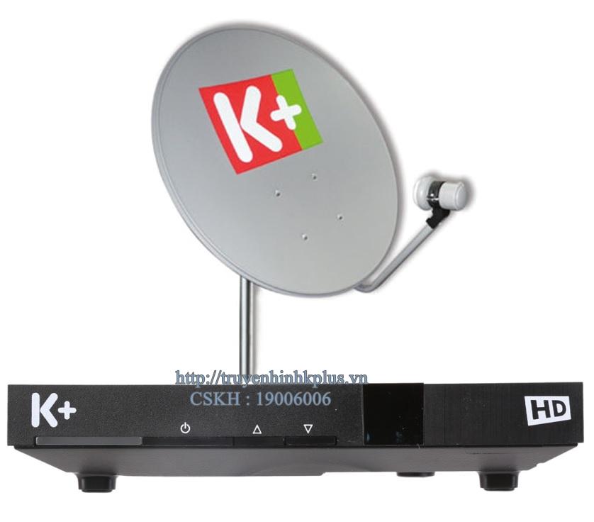 Giá bán thiết bị truyền hình K+