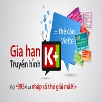 Gia hạn thuê bao truyền hình K+