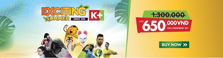 Lịch phát sóng các sự kiện thể thao tuần 27/2019 - 5/7/2019 trên các kênh k+