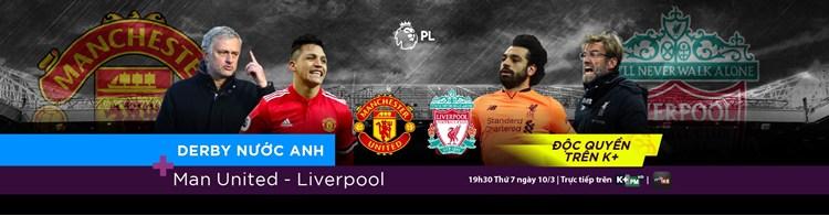 Lịch phát sóng các sự kiện thể thao tuần 11/2018 (10/3/2018 - 16/3/2018) trên các kênh K+
