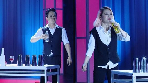Tập 9 - Ai cũng bật cười Mùa 2: Ca sĩ Mia bạo gan uống dầu ăn thay nước
